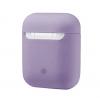 New Airpods Silicon case lavender grey (in box) рис.1