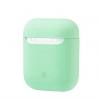 New Airpods Silicon case sea blue (in box) рис.1