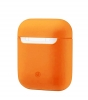 New Airpods Silicon case nectarine (in box) мал.1