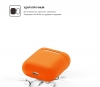 New Airpods Silicon case nectarine (in box) мал.2