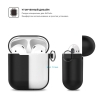 New Airpods Silicon case with hook black (in box) рис.3