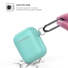 New Airpods Silicon case with hook sea blue (in box) рис.2