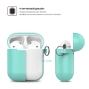 New Airpods Silicon case with hook sea blue (in box) рис.3