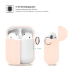 New Airpods Silicon case with hook pink sand (in box) рис.3