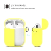 New Airpods Silicon case with hook yellow (in box) рис.3