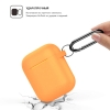 New Airpods Silicon case with hook nectarine (in box) рис.2