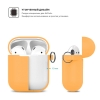 New Airpods Silicon case with hook nectarine (in box) рис.3
