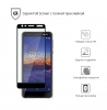 Защитное стекло Armorstandart Full Glue для Nokia 3.1 Black (ARM53730-GFG-BK) рис.2