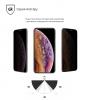 Защитное стекло ArmorStandart Full-Screen 3D PREMIUM Anti-spy для Apple iPhone XS/iPhone X Black рис.3