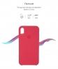 Apple iPhone XR Silicone Case (OEM) - Hibiscus рис.3