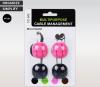 Органайзер для кабеля ArmorStandart CC-942 black/pink (ARM53904) рис.2