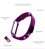ArmorStandart Metal Milanese Magnetic Band for Xiaomi Mi Band 3 Purple рис.3