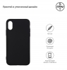 Soft Matte Slim Fit TPU Case for iPhone Xs Black рис.2