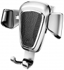 Baseus Gravity Car Mount (Metal type) Silver (SUYL-B0S) рис.3