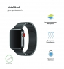 Apple Link Bracelet for Apple Watch 38mm/40mm Black рис.2
