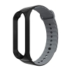 ArmorStandart Sport Silicone Band for Xiaomi Mi Band 3 Black/Black-Grey рис.1