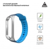 ArmorStandart Sport Silicone Band for Xiaomi Mi Band 3 Silver/Blue-Light Blue рис.2