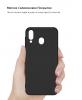 Soft Matte Slim Fit TPU Case for Samsung A30 2019 (A305)/A20 2019 (A205) Black рис.3