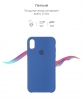 Apple iPhone XR Silicone Case (OEM) - Delft Blue рис.3