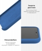 Apple iPhone XR Silicone Case (OEM) - Delft Blue рис.6