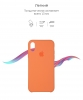 Apple iPhone XR Silicone Case (OEM) - Papaya рис.3