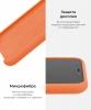 Apple iPhone XR Silicone Case (OEM) - Papaya рис.6
