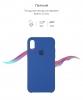 Apple iPhone XS/X Silicone Case (OEM) - Delft Blue рис.3