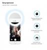 Селфи кольцо Selfie Light RK-12 Re-chargable white рис.2