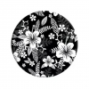 Pop Socket with car mount C89 Flowers black and white рис.2