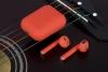 Bluetooth Headphones TWS i12 orange мал.3