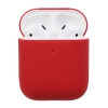 Airpods 2 Ultrathin Silicon case crimson (in box) рис.1