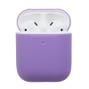 Airpods 2 Ultrathin Silicon case purple (in box) рис.1