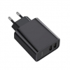 Baseus Speed Dual QC3.0 Quick charger U+U 30W EU Black (CCFS-E01) рис.3