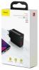 Baseus Speed Dual QC3.0 Quick charger U+U 30W EU Black (CCFS-E01) рис.4