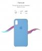 Apple iPhone XS/X Silicone Case (OEM) - Cornflower рис.3
