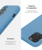 Apple iPhone XS/X Silicone Case (OEM) - Cornflower рис.5