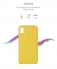 Apple iPhone XS/X Silicone Case (OEM) - Canary Yellow рис.3