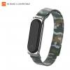 ArmorStandart Metal Milanese Magnetic Band 4302 for Xiaomi Mi Band 4/3 Camo Silver/Green мал.1