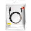 Baseus halo data cable USB For Type-C 2A 2M Black (CATGH-C01) рис.3