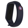 Ремешок ArmorStandart Superhero for Xiaomi Mi Band 4/3 Captain America Blue рис.1