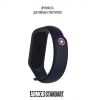 Ремешок ArmorStandart Superhero for Xiaomi Mi Band 4/3 Captain America Blue рис.3