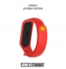 Ремешок ArmorStandart Superhero for Xiaomi Mi Band 4/3 Iron Man Red рис.3
