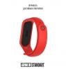 Ремешок ArmorStandart Superhero for Xiaomi Mi Band 4/3 Spider Man Red мал.3