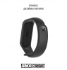 Ремешок ArmorStandart Superhero for Xiaomi Mi Band 4/3 Thor Dark Grey рис.3