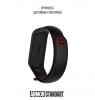 Ремешок ArmorStandart Superhero for Xiaomi Mi Band 4/3 Deadpool Black мал.3