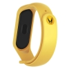 Ремешок ArmorStandart Marvel edition for Xiaomi Mi Band 4/3 Wolverine Yellow рис.1