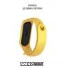 Ремешок ArmorStandart Superhero for Xiaomi Mi Band 4/3 Wolverine Yellow мал.3