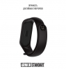 Ремешок ArmorStandart Superhero for Xiaomi Mi Band 4/3 Black Panther Black мал.3