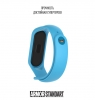 Ремешок ArmorStandart Superhero for Xiaomi Mi Band 4/3 Captain Marvel Blue рис.3