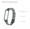 ArmorStandart Metal Milanese Magnetic Band 4302 for Xiaomi Mi Band 4/3 Camo Grey рис.3